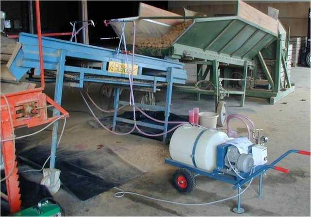 Protection des plants de pomme de terre une nouvelle solution pour 2009 propos e par syngenta - Traitement pomme de terre ...