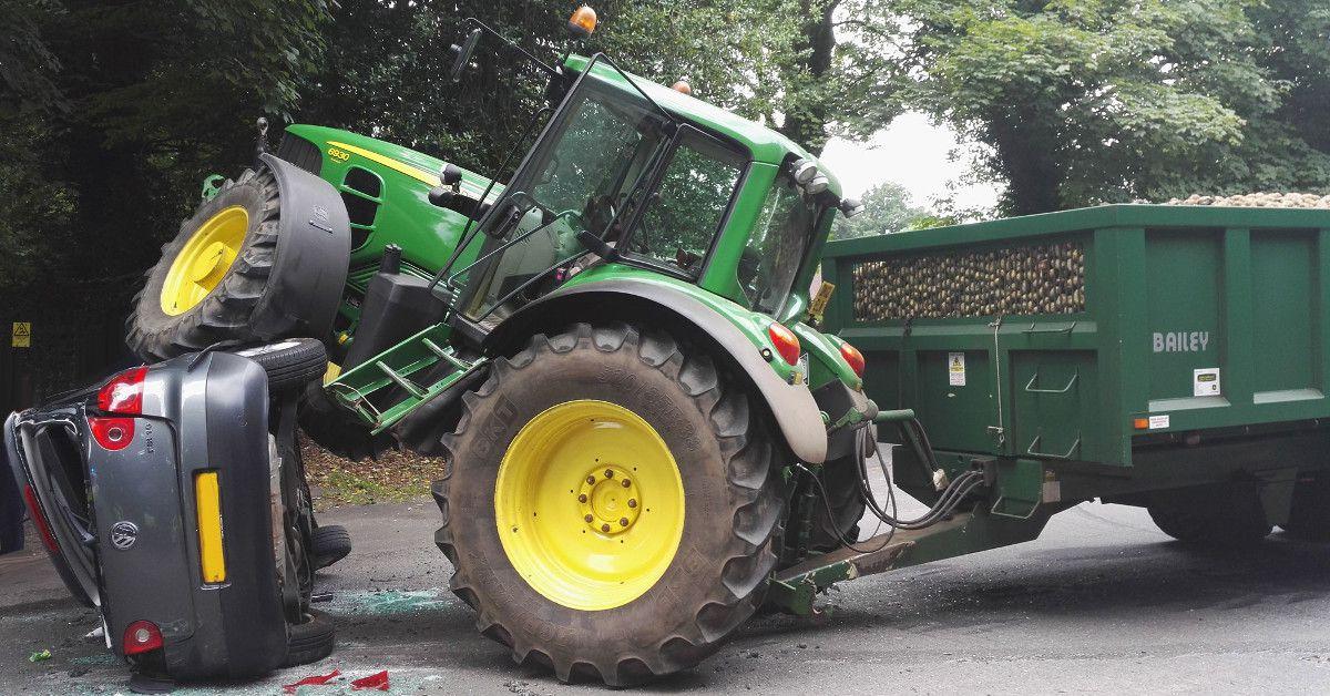 Pouvez vous conduire un tracteur agricole 60 km h for Permis agricole