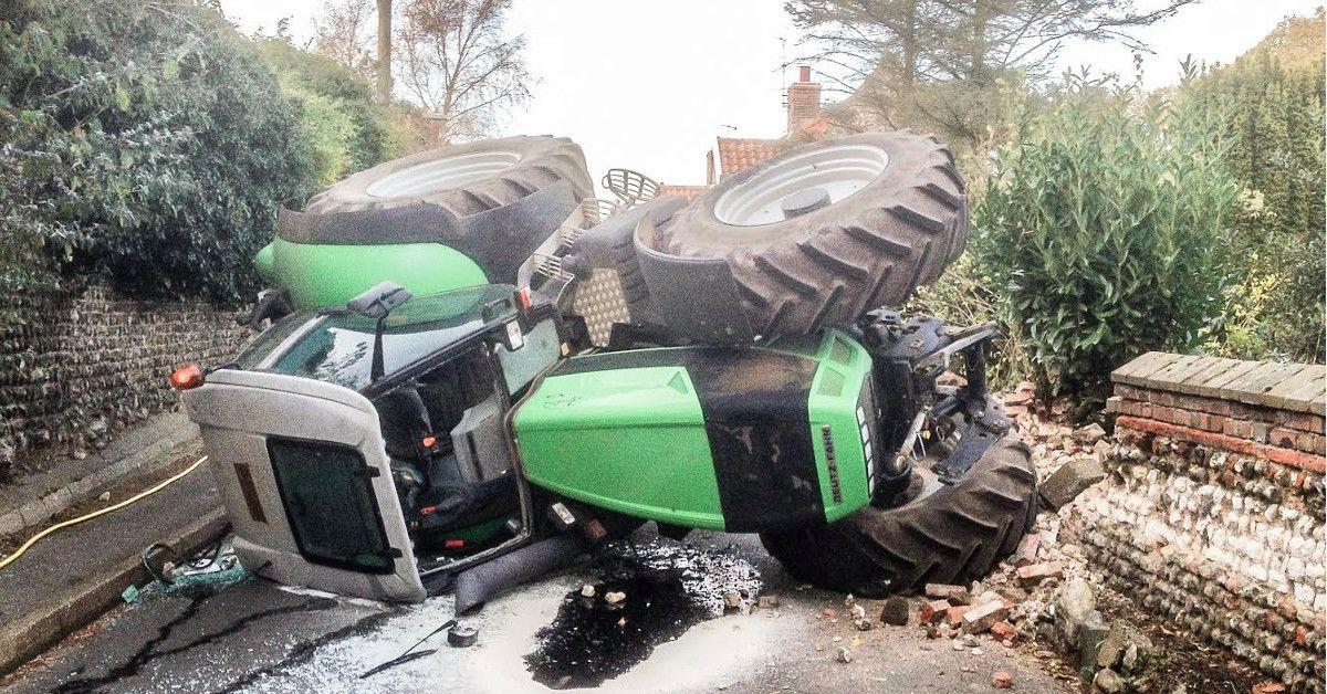 Vers le port obligatoire de la ceinture de s curit en tracteur - Port de la ceinture obligatoire ...