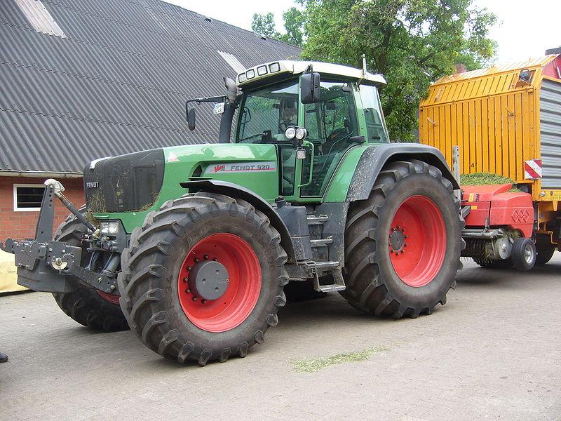 Tracteur allemand marque