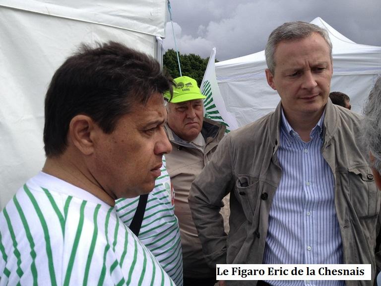 Plusieurs milliers d 39 agriculteurs d 39 leveurs de la fnsea aux invalid - Arnaud de la chesnais ...