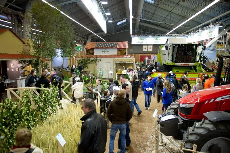 La ferme de l 39 odyss e v g tale au salon international de l 39 agriculture 2014 - Salon de l agriculture materiel agricole ...