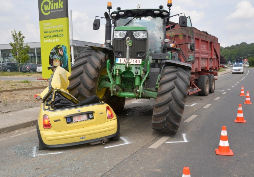 Accident Tracteur Tondeuse