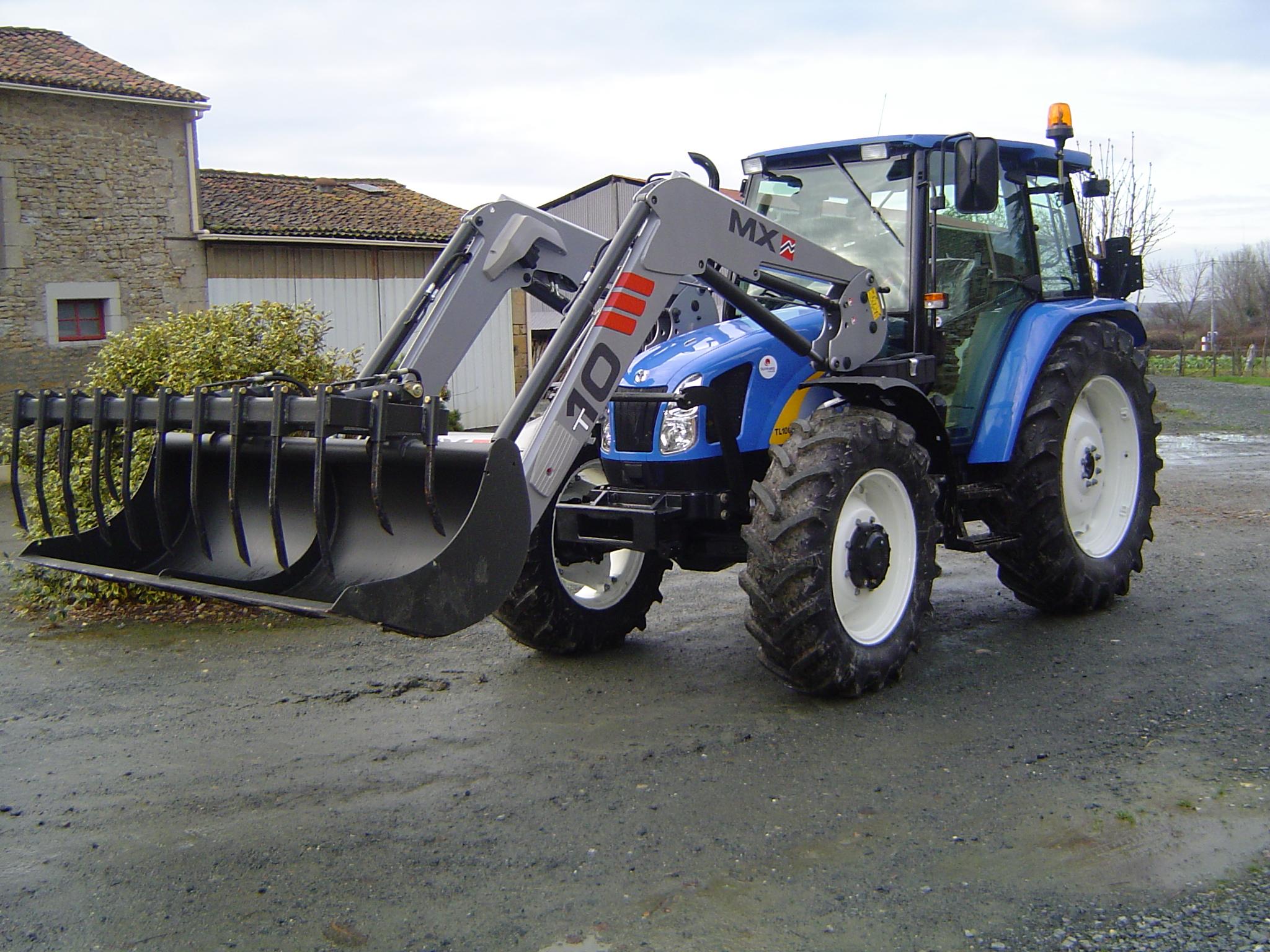 avis tl100a de la marque new holland tracteurs agricoles. Black Bedroom Furniture Sets. Home Design Ideas