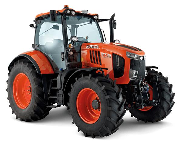 avis m7151 de la marque kubota tracteurs agricoles. Black Bedroom Furniture Sets. Home Design Ideas