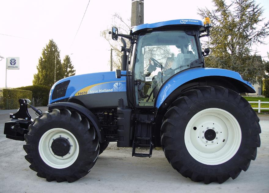 avis t6070 plus elite de la marque new holland tracteurs agricoles. Black Bedroom Furniture Sets. Home Design Ideas