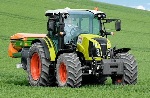 avis arion 460 panoramic de la marque claas tracteurs agricoles. Black Bedroom Furniture Sets. Home Design Ideas