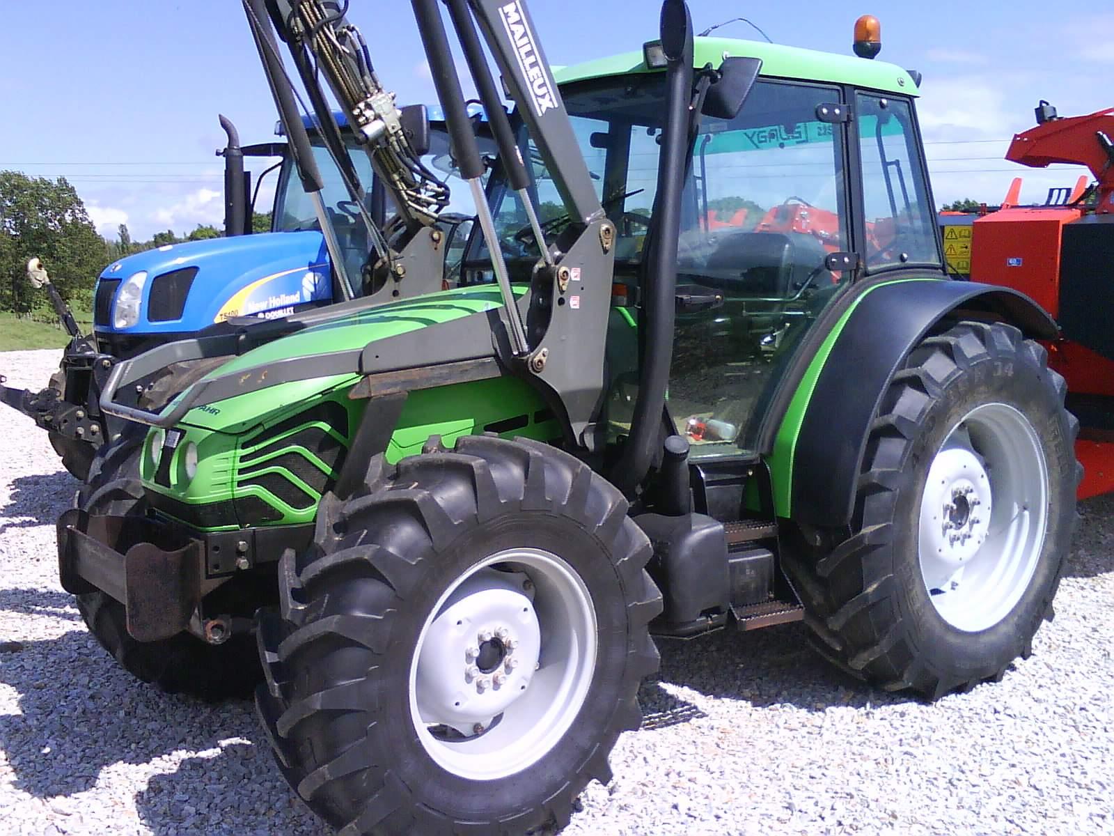 avis agroplus 75 de la marque deutz fahr tracteurs agricoles. Black Bedroom Furniture Sets. Home Design Ideas