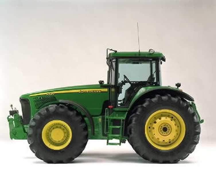 avis 8220 de la marque john deere tracteurs agricoles. Black Bedroom Furniture Sets. Home Design Ideas
