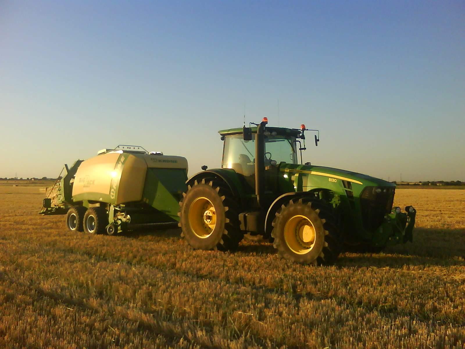 Avis 8130 de la marque john deere tracteurs agricoles - Image tracteur ...