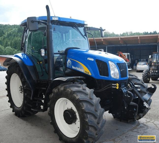 Geliebte Avis TS100A de la marque New Holland - Tracteurs agricoles @EO_81