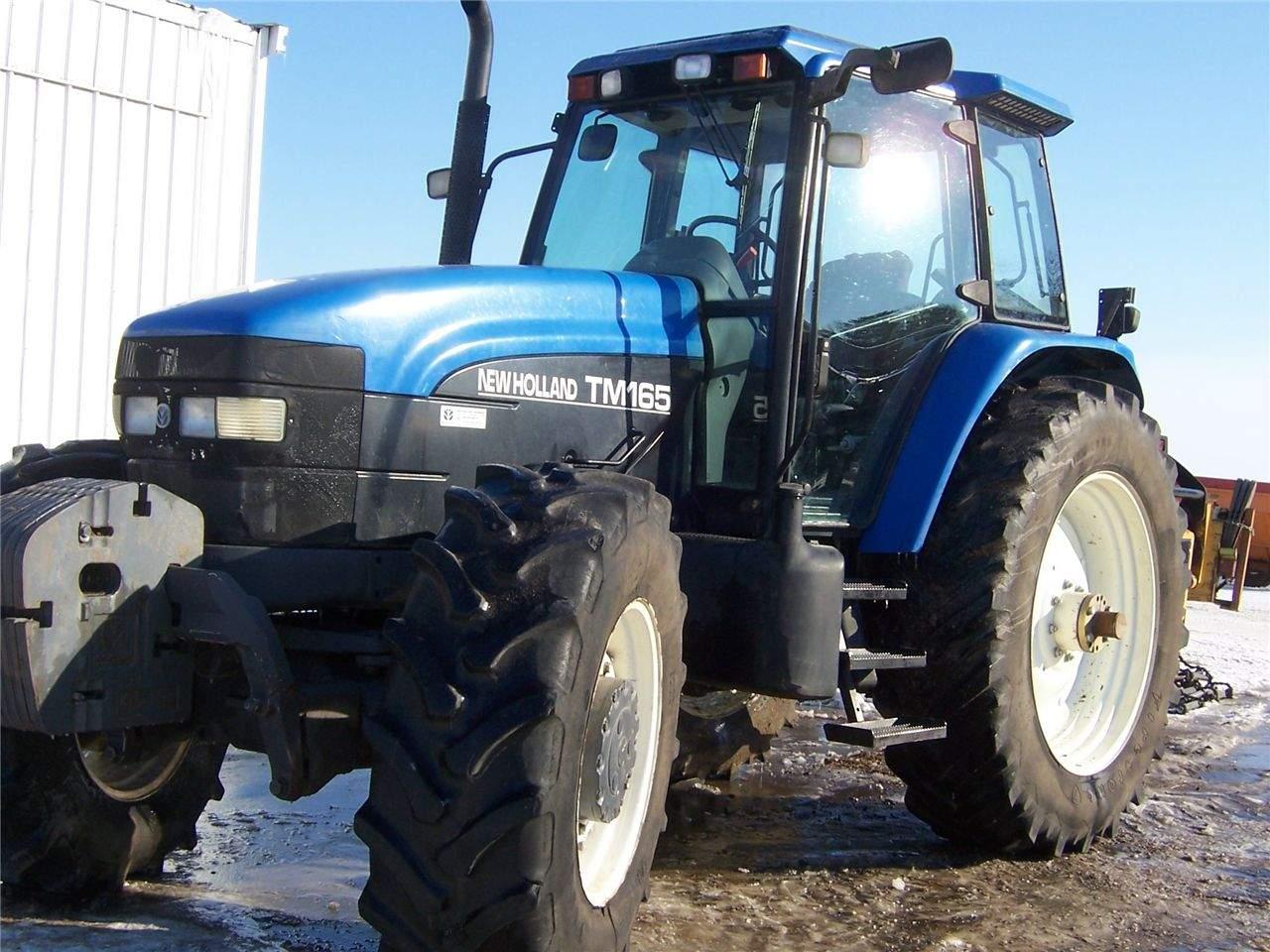 avis tm165 de la marque new holland tracteurs agricoles. Black Bedroom Furniture Sets. Home Design Ideas