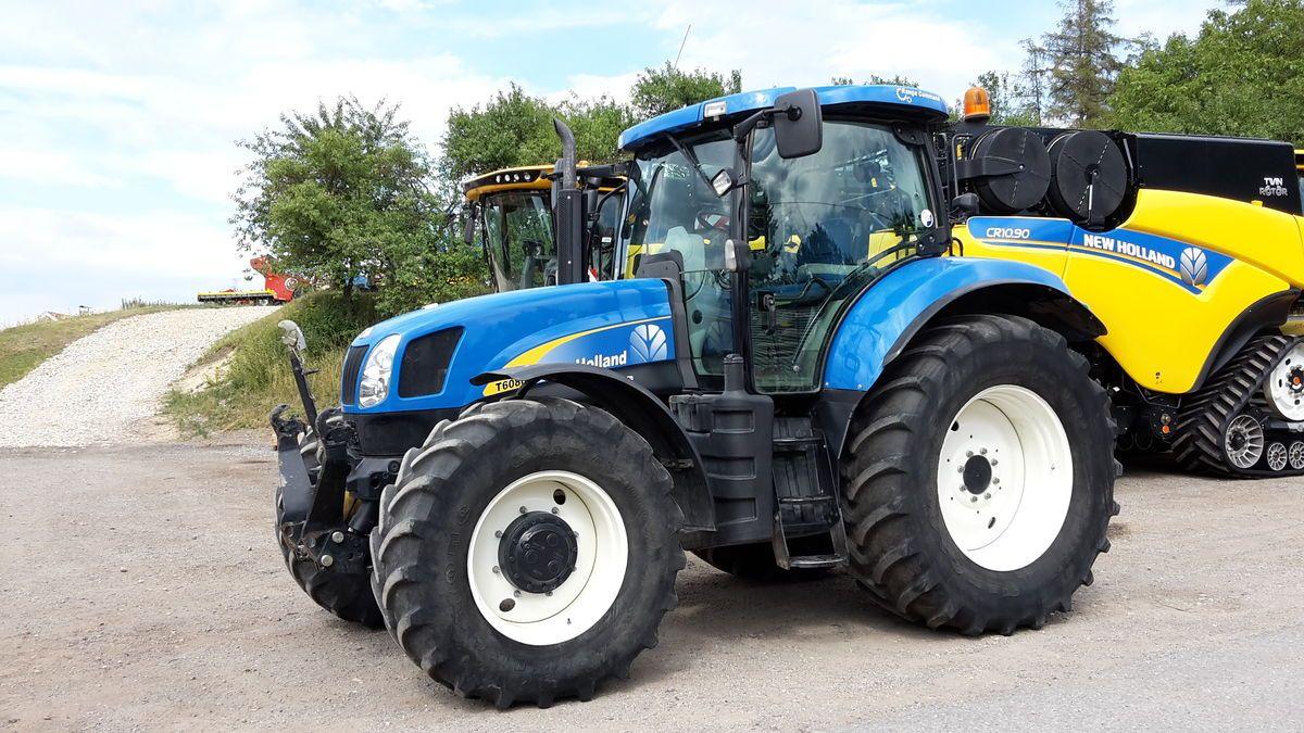 avis t6080 de la marque new holland tracteurs agricoles. Black Bedroom Furniture Sets. Home Design Ideas