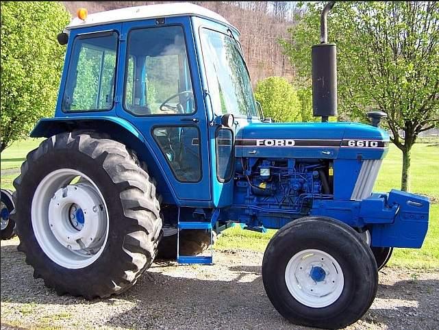 Avis 6610 De La Marque Ford Tractors