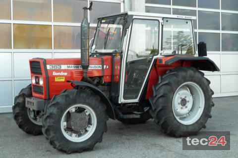 Photo du Tracteurs agricoles MF 363
