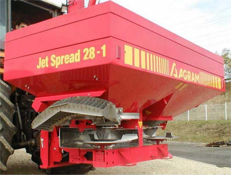 Photo du Epandeur à engrais Jet Spread 28-1
