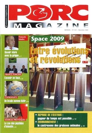 Photo du magazines, journaux agricoles Porc Magazine