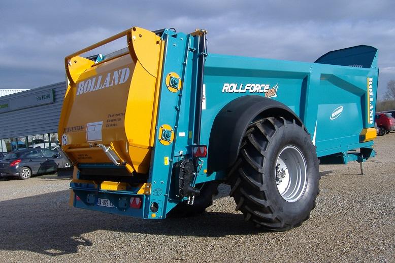 Photo du Epandeurs à fumier et composts Rollforce