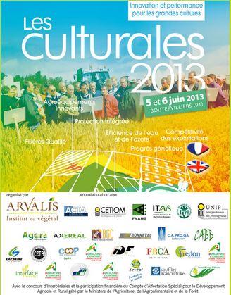Photo du Salons professionnels Les Culturales 2013