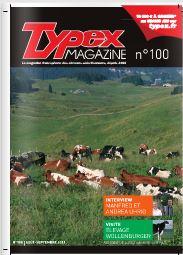 Photo du magazines, journaux agricoles Typex magazine