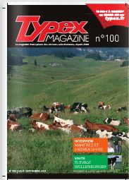 Photo du magazines, journaux agricoles Typex magazine