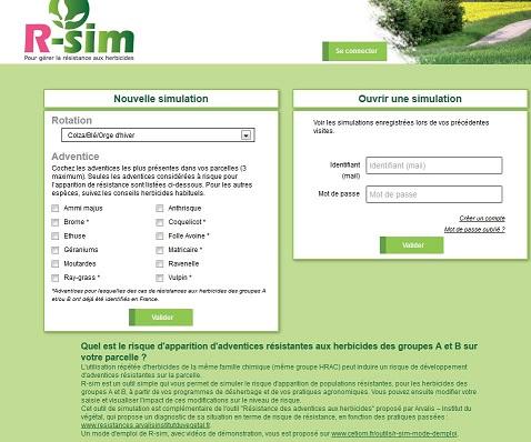Photo du Services et logiciels de surveillance des cultures R-sim