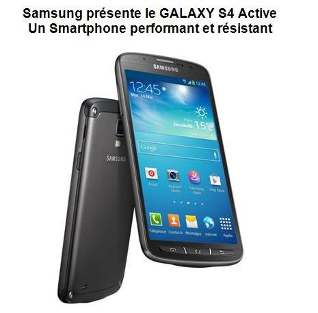 Photo du Fabricants de téléphones portables Galaxy S4 Active