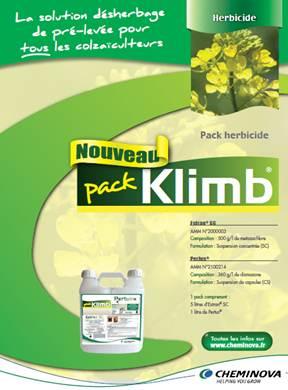 Photo du Herbicides Oléagineux Pack Klimb