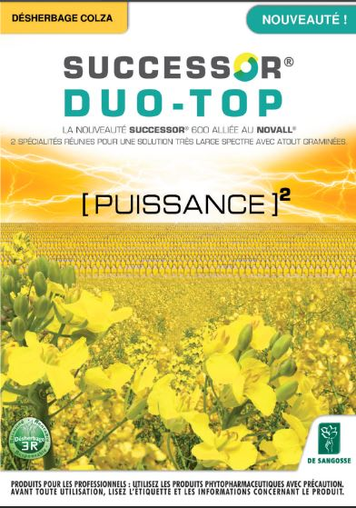 Photo du Herbicides Oléagineux Successor Duo Top