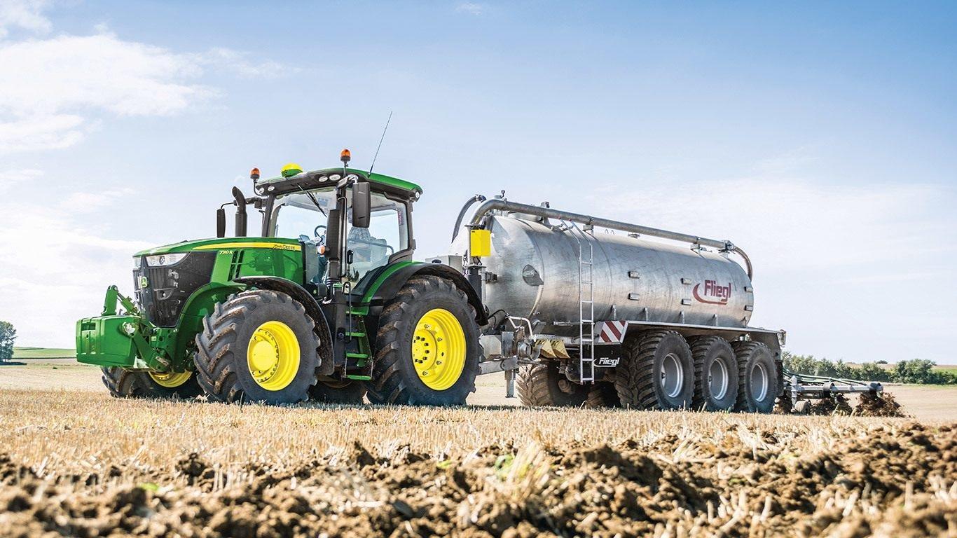 Photo du Tracteurs agricoles 7250R