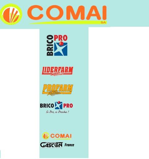 Photo du Vente de matériels neufs Concessionnaire Farmet, Gascon international, Cosmo, Liderfarm