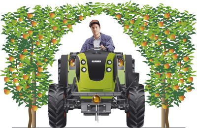 Photo du Tracteurs fruitiers Nexos 220 FB Et 230 FB