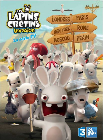 Photo du DVD,.. Lapins Crétins - l'invasion 1ère partie