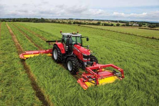 Photo du Tracteurs agricoles MF 7614 Dyna-4 Et Dyna-6