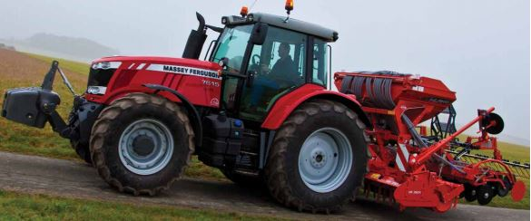 Photo du Tracteurs agricoles MF 7615 Dyna-4, Dyna-6 Et Dyna-VT