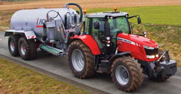 Photo du Tracteurs agricoles MF 7616 Dyna-6 Et Dyna-VT