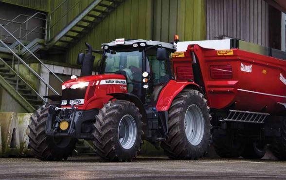 Photo du Tracteurs agricoles MF 7618 Dyna-6 Et Dyna-VT