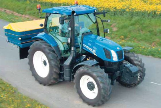 Photo du Tracteurs agricoles T6.165