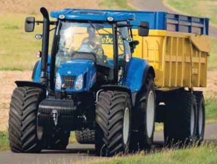 Photo du Tracteurs agricoles T6.140