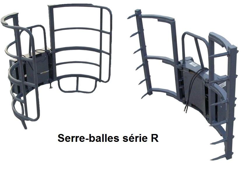 Photo du fourches à ballots Pinces-balles série A, C et R