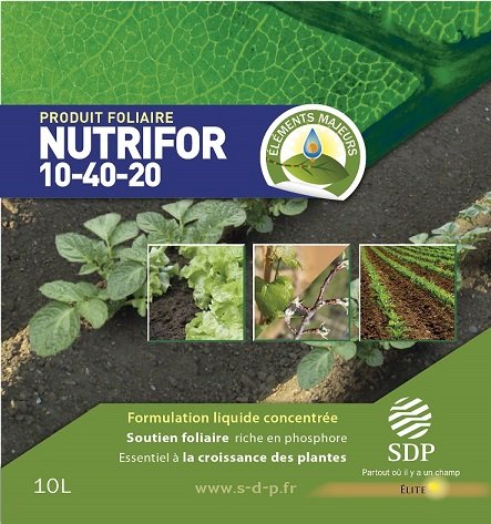 Photo du Engrais foliaire Nutrifor 10/40/20