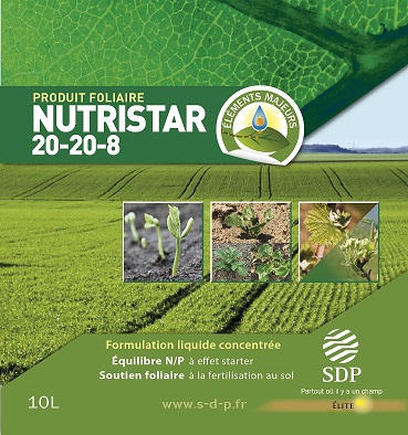 Photo du Engrais foliaire Nutristar 20/20/8