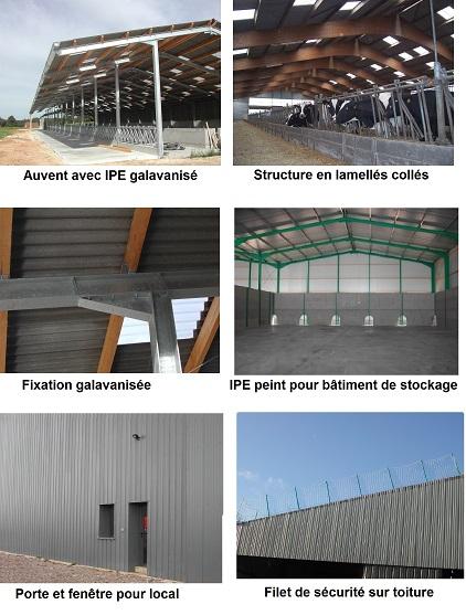 Photo du Construction bâtiments Bâtiment agricole