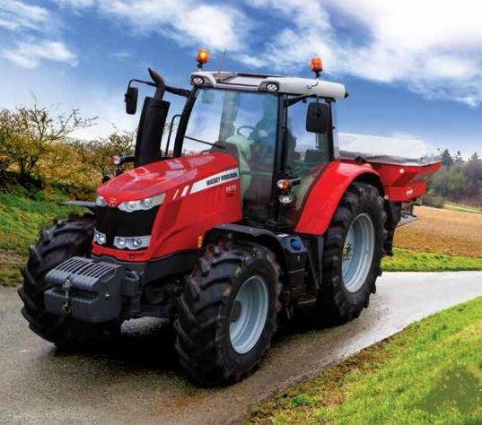 Photo du Tracteurs agricoles MF 6612 Dyna-4