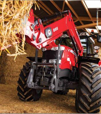 Photo du Tracteurs agricoles MF 6614 Dyna-6 Et Dyna-VT