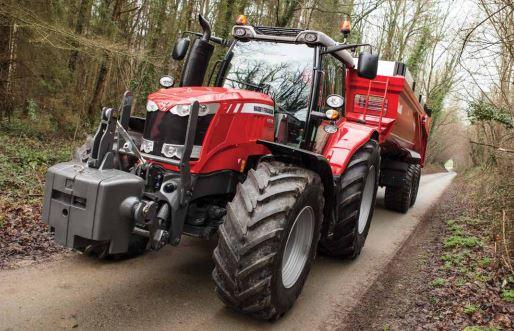 Photo du Tracteurs agricoles MF 6616 Dyna-6 Et Dyna-VT