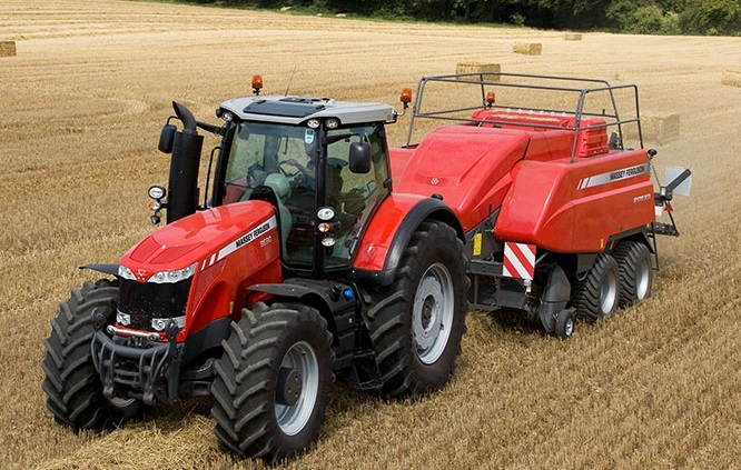Photo du Tracteurs agricoles MF 8650 Dyna-VT (Excellence)