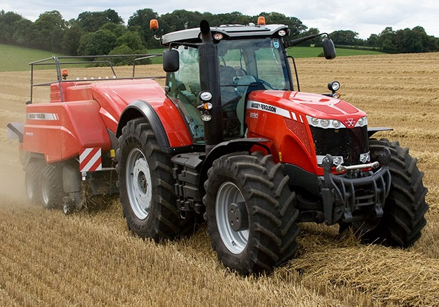 Photo du Tracteurs agricoles MF 8670 Dyna-VT (Excellence)