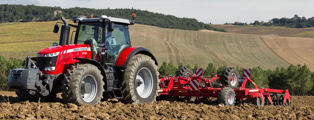 Photo du Tracteurs agricoles MF 8730 Dyna-VT