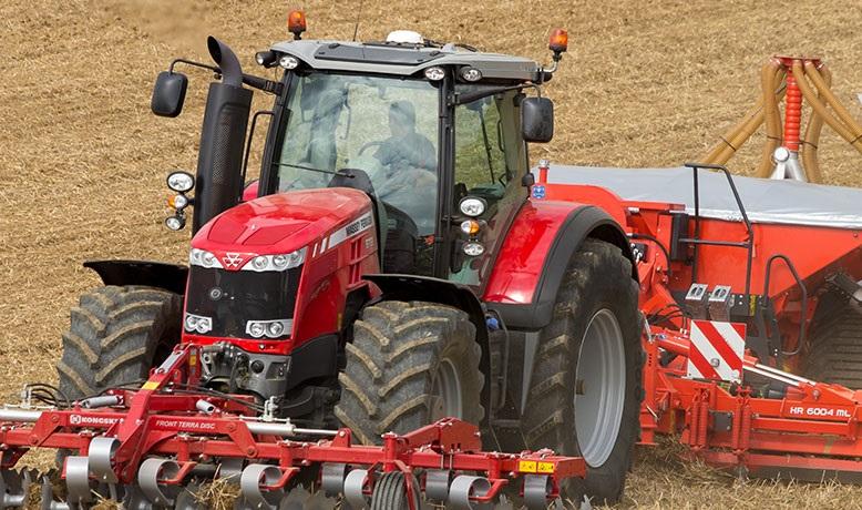 Photo du Tracteurs agricoles MF 8732 Dyna-VT